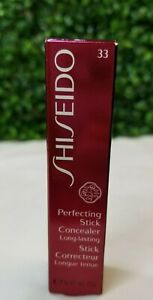 NEW IN BOX Shiseido Perfecting Stick Concealer  0.17oz - Natural 33