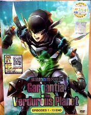 Gargantia on the Verdurous Planet (Chapter 1 - 13 End) ~ DVD ~ English Subtitle
