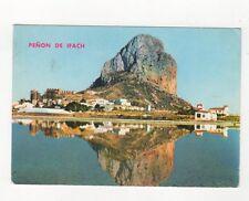 Penon de Ifach Calpe Alicante Spain Postcard 453a
