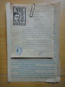 1935-Centurione G.B.MORO autografo-PARENZO-Porec-Istria-Croazia-Consorzi Agrari+