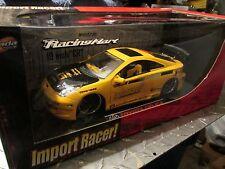 """Toyota Celica  Jada Import Racer 1/18 Scale diecast tuners 19"""" Racing Hart wheel"""