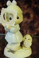 """Precious Moments-#681067 """"You Complete My Heart"""" -Girl w/Cut Out Heart- NEW"""