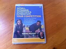 Outsell,Outmanage,Outmotivate & Outnegotiate Your Competition Harvey Mackay DVD
