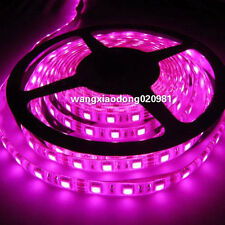 5050 PINK LED Strip 5M 300 LEDs SMD Flex Light Waterproof IP65 For Car 12V DC