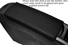 GREY STITCHING FITS TOYOTA PRIUS T3 05-09 LEATHER ARMREST COVER ONLY