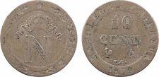 10 centimes à l'N couronnée, 1809 Paris, Premier Empire, variété axe à 9h - 21