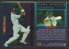 FUTERA 1996 CRICKET ELITE RICKY PONTING TEST HEROES CARD No 37