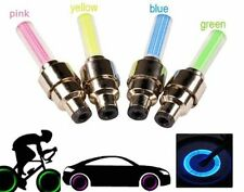 Bike Bicycle Spoke Wheel Wire Colorful LED Light with 3 Light Models Yellow
