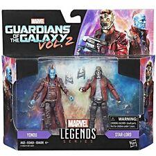 "100% Hasbro Marvel Legends Guardians of the Galaxy 3.75"" Star Lord & Yondu"