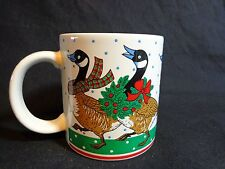 CANADIAN GOOSE MUG Canada Christmas Coffee Cup Made in Japan
