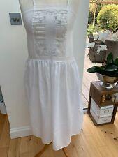Mia Cassara Vintage White Nightdress Uk14