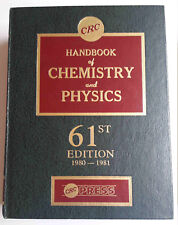CRC Handbook of Chemistry and Physics, 61st Edition (1980-1981), Robert C Weast