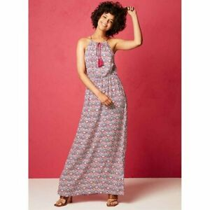 Avon Rio Nights Aztec Print  Maxi Dress Size 18 new in pack RRP £22 Summer (R)