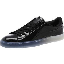 Men s NWOB Puma Basket Patent Ice Fade Black Patent Leather Size 6.5 6 ... a86f44184