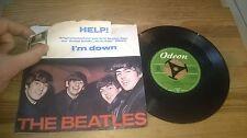 "7""  Pop Beatles - Help! I'm Down (2 Song) ODEON McCartney"