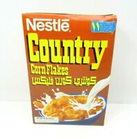 Vintage Nestle Country Cereal Middle East 15oz Full Box Sealed Prop 90s Arabic