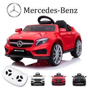 12V Kids Ride On Car Electric Licensed MERCEDES BENZ AMG GLA45 Twin Motor Remote