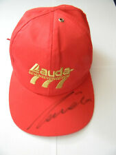 NEW orig SIGNED cap Niki Lauda Air 777 formula one f1 Ferrari  Mercedes-Benz