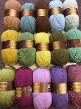 15 x 100g Stylecraft Special D/K Wool/Yarn Knitting/Crochet Moorland CAL Pack
