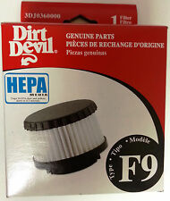 1 GENUINE DIRT DEVIL Type F9 HEPA Filter for Classic Hand Vac Part 3DJ0360000