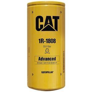 Caterpillar 1R1808 Engine Oil Filter 3406 C15 Genuine OEM Advanced Efficiency