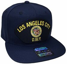 City Of Los Angeles DWP Hat Color Navy Snapback Adjustable Los Angles DWP Hat