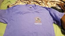 "Na Wahine O Ke Kai 2000 XL ""Official"" Shirt Lavender New women's canoe race"