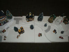 4 Ft Christmas Village Display Base Platform J18 Dept 56 Lemax Snow Village