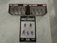 LASTONE! MTH HARLEY DAVIDSON FIGURES & CYCLES 30-11076 30-11077 30-90126 ALL NEW