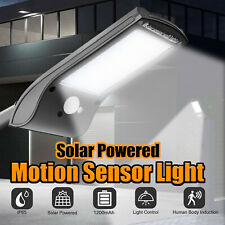 1200LM Solar Street Wall Light 36 LEDs PIR Motion Sensor Waterproof Outdoor Lamp