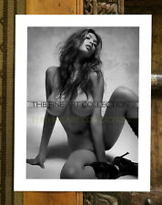 FINE ART Print - Exotic Nude Woman in Boots - Limited Edition Collection