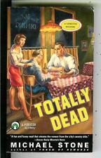 TOTALLY DEAD by Stone, US Penguin crime noir gga pulp vintage pb Streeter PI