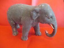 ancien jouet elephant les magasins reunis bois + flocage