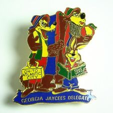 Disney Pin Jaycees 1978 Georgia On To Atlantic City Song of the South Rare Brer