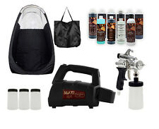MAXIMIST SPRAYMATE PRO SUNLESS HVLP W BLACK TENT AND FREE TAMPA BAY TAN SPRAY