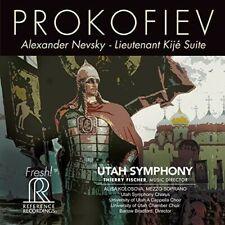 Alexander Nevsky - Prokofiev / Utah Symphony / Kolosova (2019, SACD NIEUW)