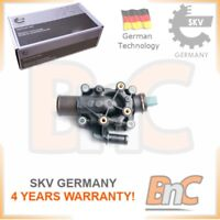 COOLANT THERMOSTAT CITROEN PEUGEOT OEM 9647265980 SKV GERMANY GENUINE HEAVY DUTY