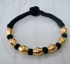 bangle cuff gold jewellery handmade vintage 22k gold beads bracelet