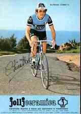 ALFREDO CHINETTI Team JOLLJ CERAMICA Signed Autografo cycling signature ciclismo