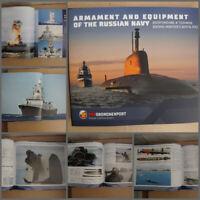 ROSOBORONEXORT Armament and equipment of the Russian Navy. Warships. Submarines.