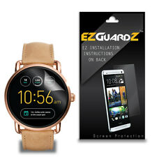 4X EZguardz New Screen Protector Cover HD 4X For Fossil Q Wander