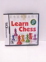 Learn Chess (Nintendo DS, 2009)  CIB Tested Fast Shipping