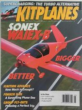 Kitplanes May 2017 Sonex Waiex-B Bigger Better Ignition Advance FREE SHIPPING sb