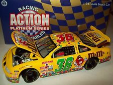 Ernie Irvan 1998 M&M's #36 Pontiac 1st M&M's Car Ever 1/24 NASCAR Diecast