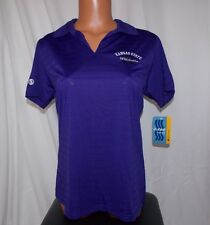 NEW NCAA Official KANSAS STATE WILDCATS Ladies Medium HOLLOWAY CLUBHOUSE POLO