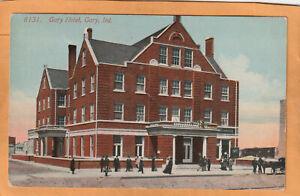 Gary Hotel Indiana 1908 Postcard