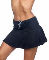Hering Ladies Flounce Teir Midi Cotton Casual Skirt