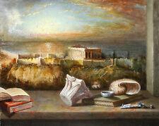 Antonio Nunziante, Olio e tempera su tavola 40x50.