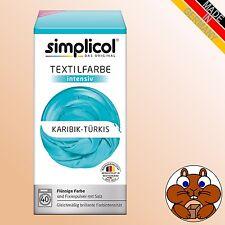 1x simplicol Textilfarbe intensiv verschiedene Farbtöne Färben / Batiken DIY