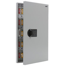 Wall Mounted 95 Key Secure Storage Steel Cabinet With Electronic Combination Lock